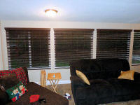 Basswood and Fauxwood Blinds